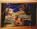 stained glass dogs-2